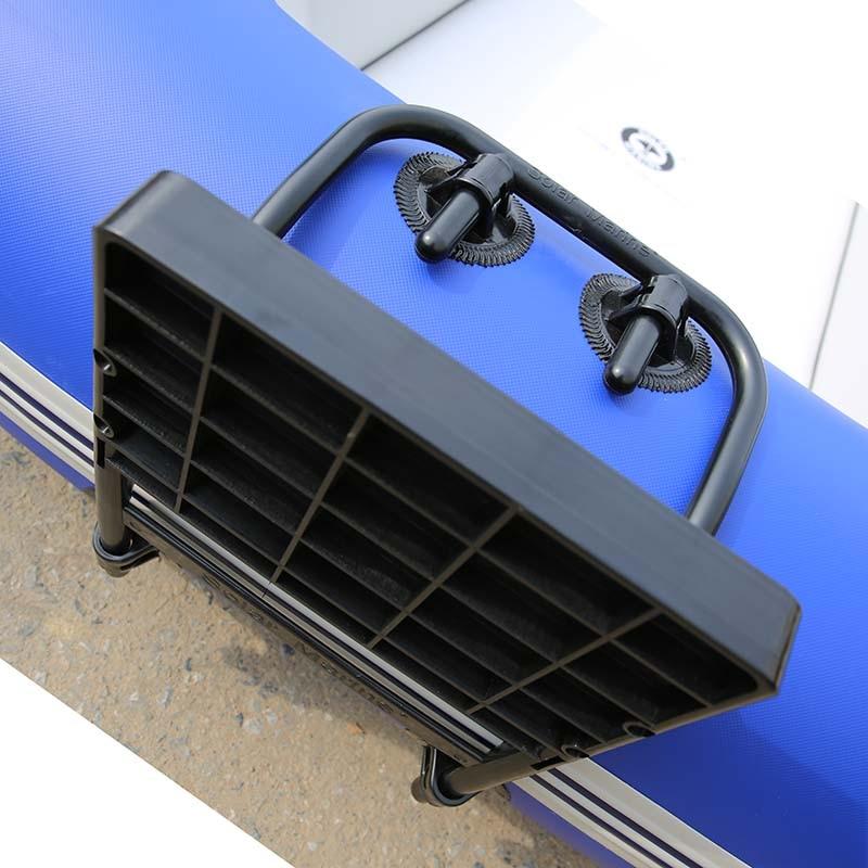 Solarmarine Wholesale PVC Inflatable Fishing Boat Accessories Kit Holder Kayak Motor Mount Bracket Motor Propeller Mount Bracket enlarge