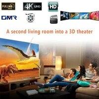 Degagement Home cinema blanc projecteur rideau Portable table ecran de Projection cinema Film projecteur ecran hologramme Full HD
