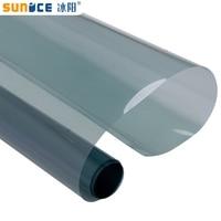 Sunice light blue car window tint 2mil 70%VLT 100%UV proof nano ceramic Solar tint car glass privacy film anti-UV glass sticker
