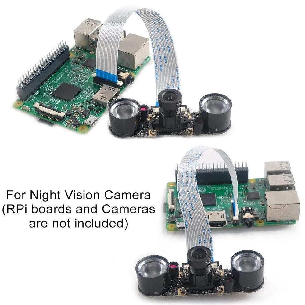 15 см 30 см/50 см/1 м 2 м удлинитель гибкий кабель для Raspberry Pi Камера (15 контактов FFC провод для Raspberry Pi 3 Model B + / 3 / 2