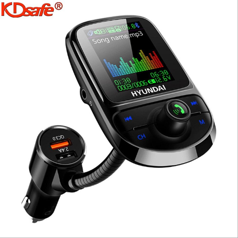 Автомобильный MP3-плеер KDsafe, mp3-плеер с экраном 1,8 дюймов и поддержкой Bluetooth