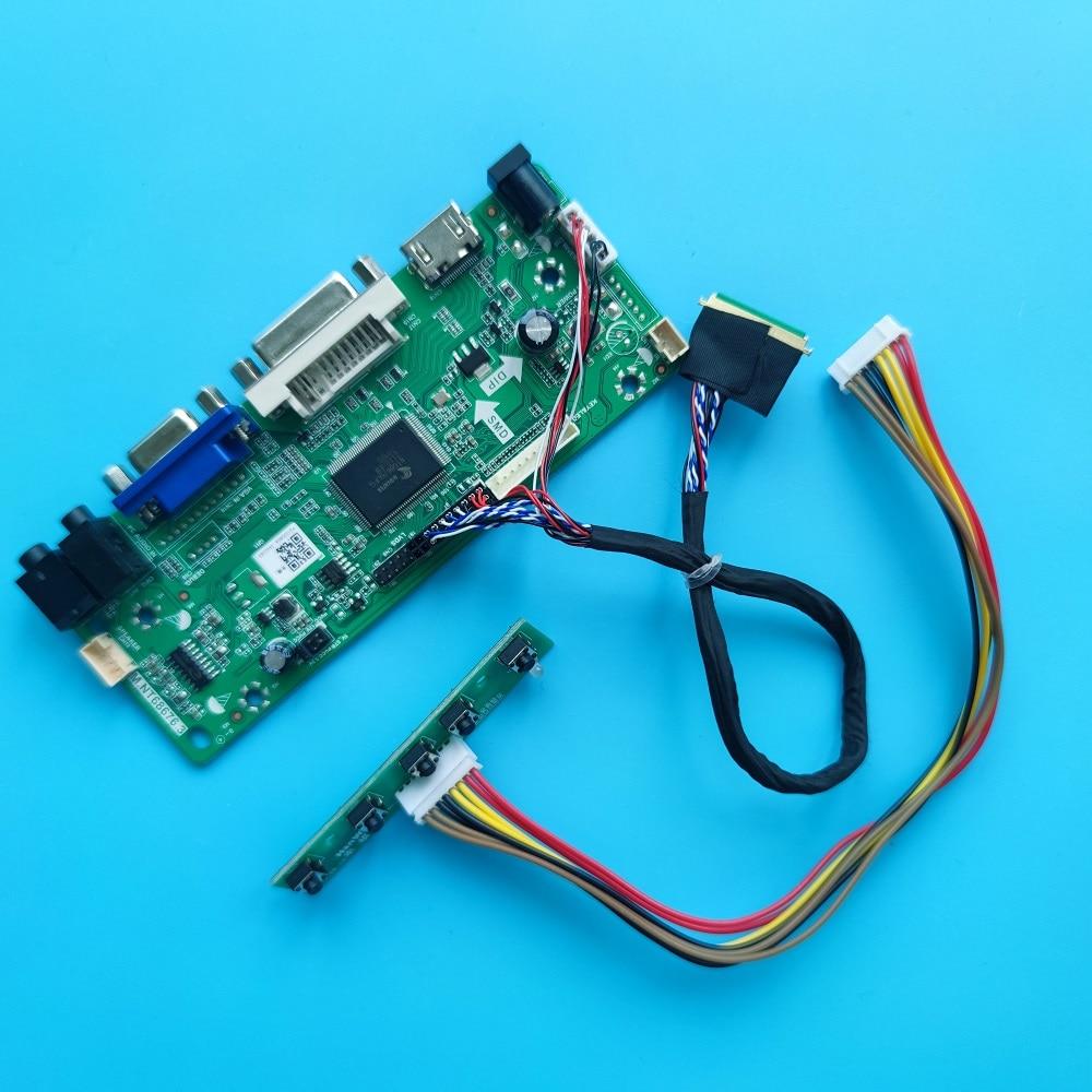عدة ل LP140WH4-TLP2/TLP3/TLD1/TLB2/TLN2 سائق تحكم لوحة لوحة DVI الصوت VGA LG عرض 1366X768 14