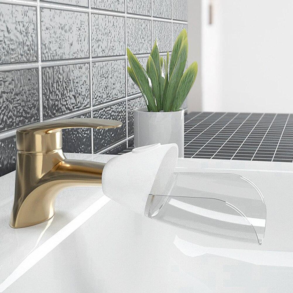 Extensor de torneira fácil instalar enxaguamento para crianças removível pia acessórios ferramenta lavar as mãos do banheiro abertura flexível duckbilled