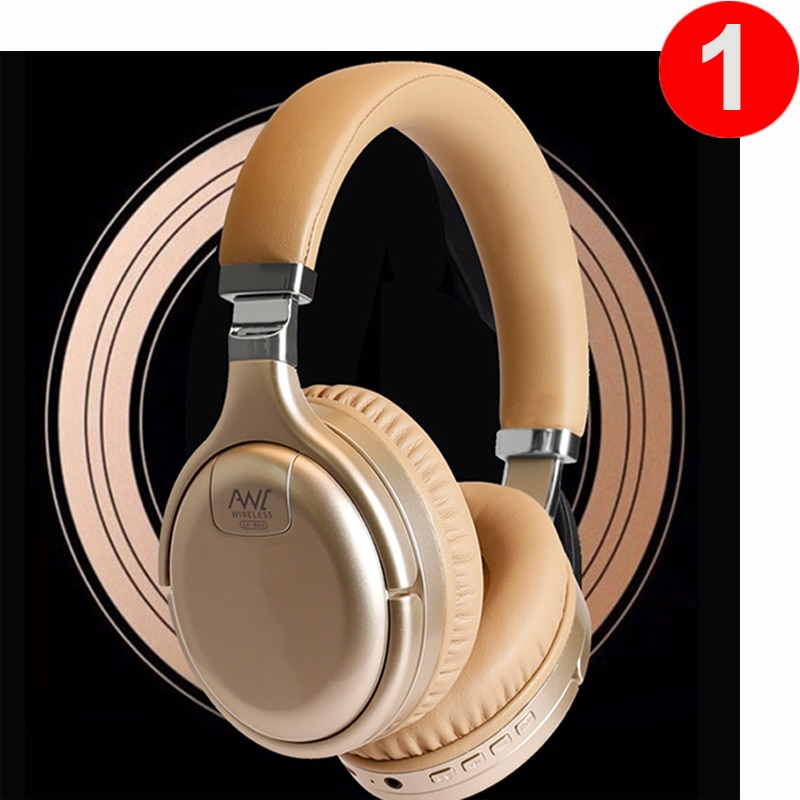 AliExpress - ANC Bluetooth Headphones Wired & Wireless Bluetooth Headset Active Noise Cancelling Headphone Deep Bass With MIC for PC Phone