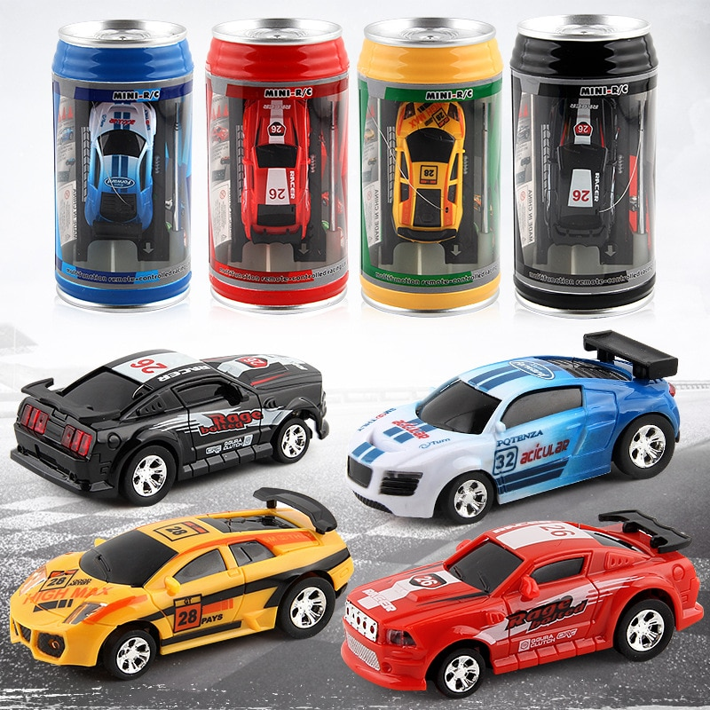 Can Remote Control Car Mini Can Remote Control Car Mini Car Children's Toys Mier Remote Control Car Coke Tanker enlarge