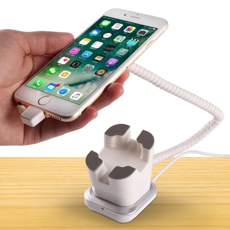(10 Set/Pack) Suitable for Phone and Tablet Retail Shop Show Table Sample Device Secure Display Holder With Alarm and Charge