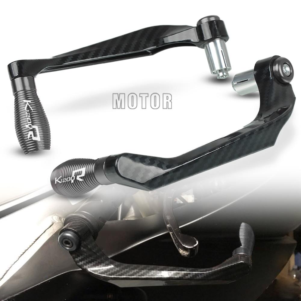 "Para BMW K1200R/SPORT 2005-2008 K1200 K 1200 R 1200R motocicleta 7/8 ""22mm manillar freno embrague Protector Proguard"