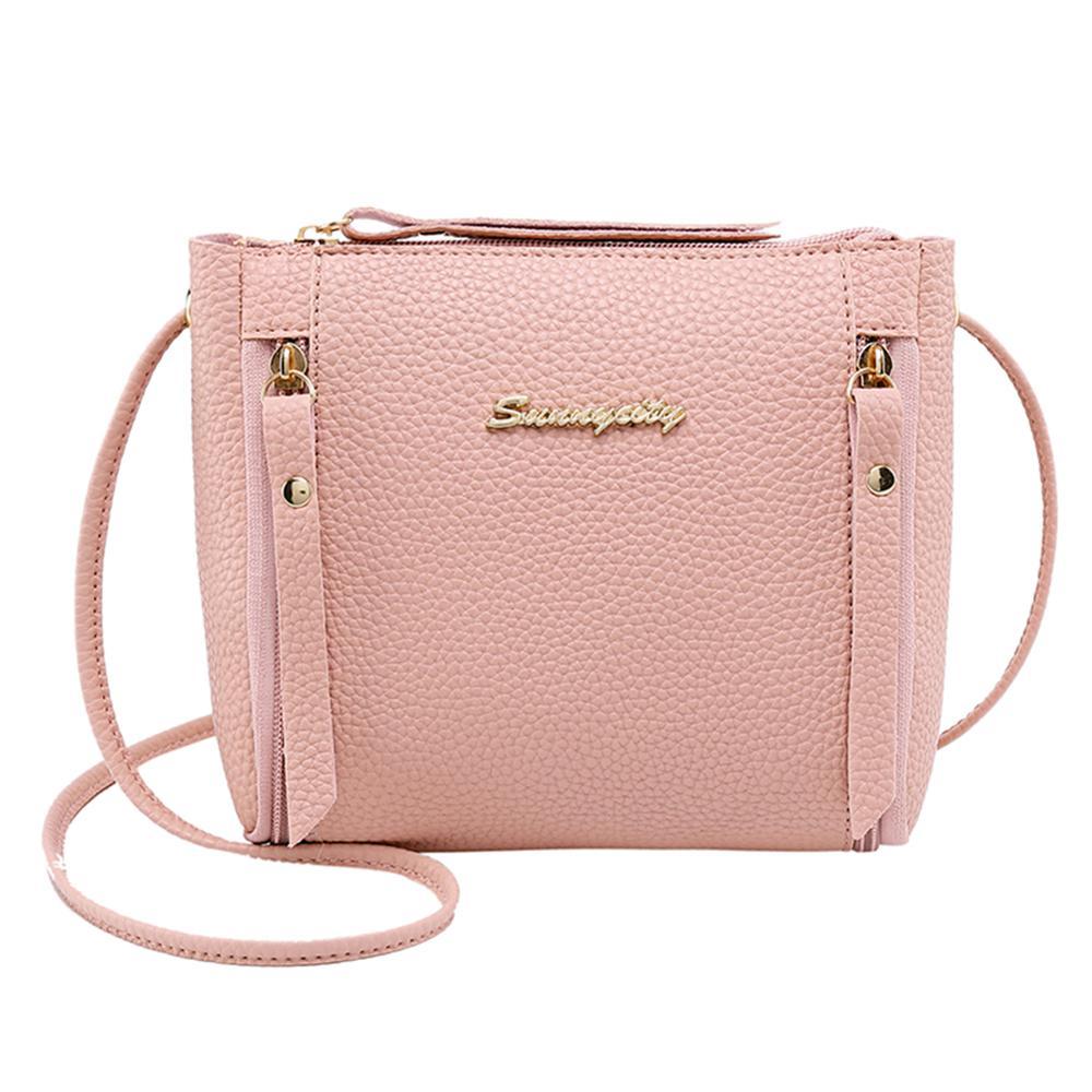 Women Bag Mini Small Square Pack Handbag PU Leather Crossbody Bag Mobile Phone Shoulder Women Messenger Bags