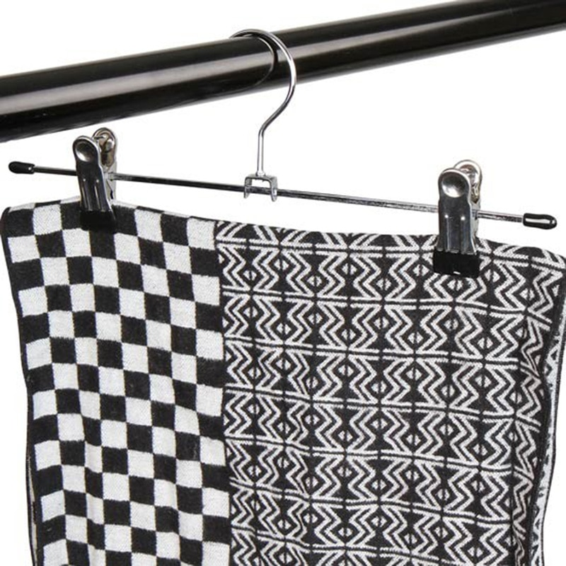 1 perchas para ropa, perchas de metal para ropa, soporte para ropa, falda ajustable, agarre, percha de secado, perchero colgante para exhibición de ropa