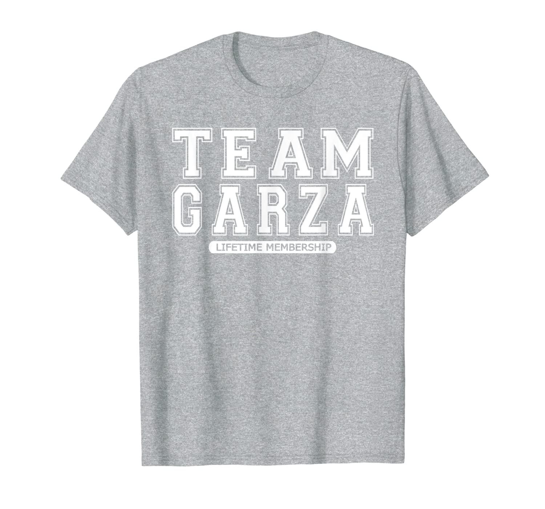Camiseta del equipo GARZA, familia, recuerdo, regalo