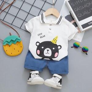 Baby Boy Clothes Summer Shorts Sets Kids Designer Clothes Boy T-shirt 2 Piece Set Vacation Outfits Ropa Bebe Recien Nacido