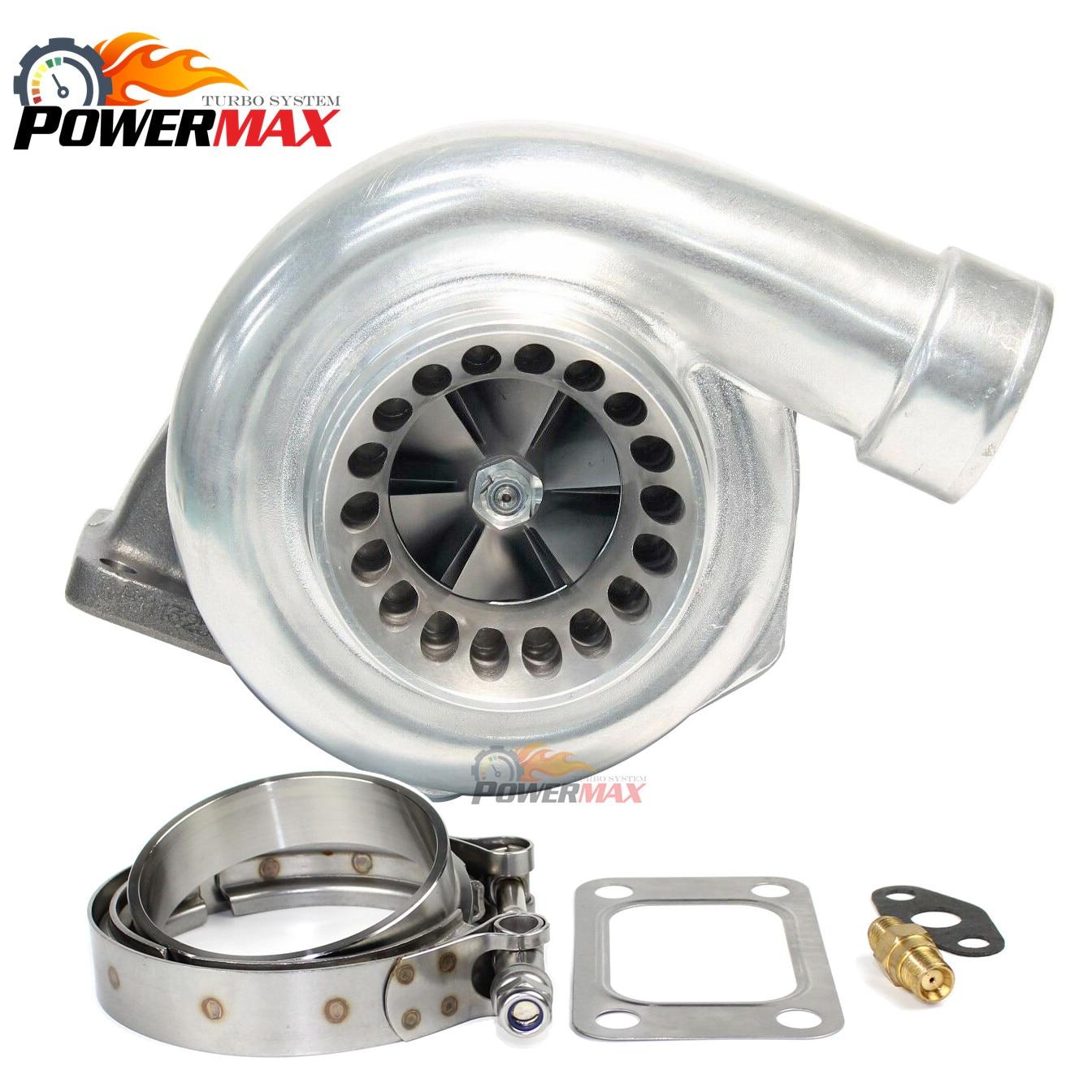 Universal rendimiento GT35 GT3582 turbocompresor T3 63 Vband carcasa de turbina