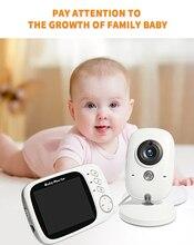 Nachtzicht Temperatuur Slapen Monitor Draadloze Video Kleur Babyfoon 3.2 Inch Hoge Resolutie Baby Nanny Security Camera