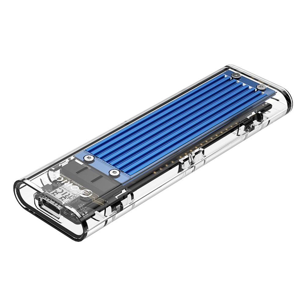 Carcasa ORICO TCM2M-C3 10Gbps tipo C SSD M.2 NVMe/SATA, carcasa de disco duro móvil, caja SSD externa para Windows MAC