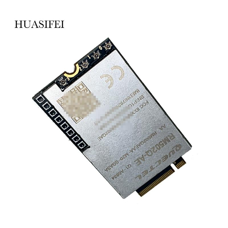 HUASIFEI RM502Q-AE 5G وحدة لاسلكية كوالكوم سنابدراجون X55 5G مودم غطاء عالمي 5G تردد العصابات يدعم NSA و SA