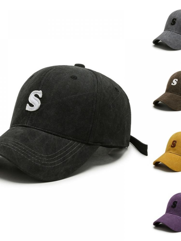 Весенне-осенние мужские и женские корейские кепки бейсболки с Вышивкой Букв дикие кепки для влюбленных солнцезащитные спортивные шляпы от ...