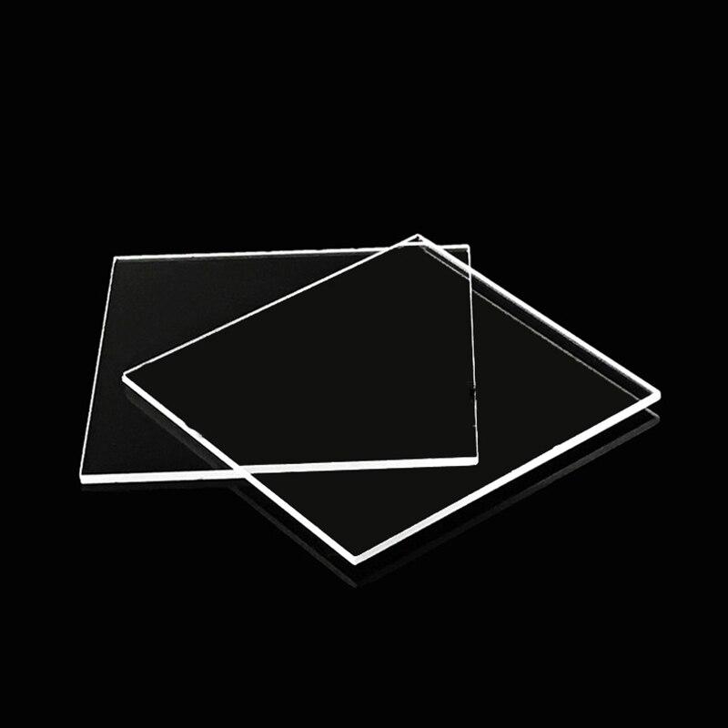 Quarz Glas Platz Stück 40*40*0.2/1/3mm Spot Jgs1 Weit Uv Optische Fenster spiegel Stück