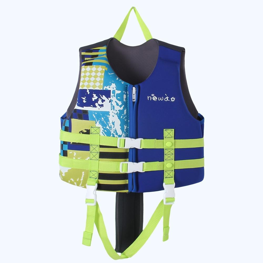 Water Sports Kayaking Boating Swimming Drifting Life Vest Bathing Suits Kids Swimming Jacket Neoprene Safety Life Vest недорого