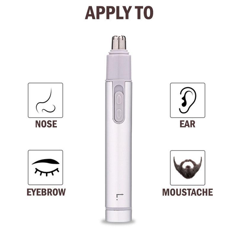 Электрический триммер для волос в носу, электрический триммер для волос в носу, мини портативный триммер для ушей для мужчин, бритва для вол...