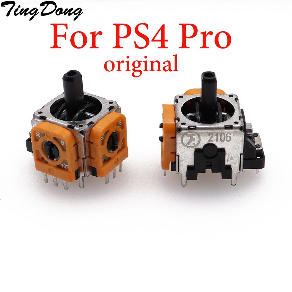 TingDong 1 шт. для Sony Dualshock 4 PS4 PRO Slim контроллер 3pin 3d Рокер ось джойстика аналоговый Сенсор Ремонт Запчасти Аксессуары