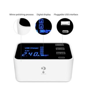 Для смартфона быстрое зарядное устройство с 4 портами USB