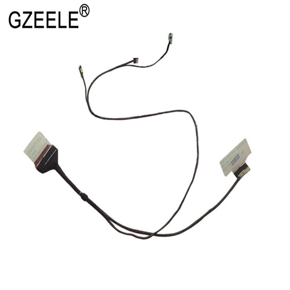 GZEELE Nuevo LCD LVDS cable de vídeo portátil de 450,01x04,0001 para Lenovo K2450 K20 K20-80 wistron K20 EDP pantalla flex