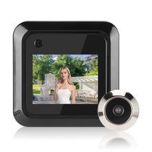 2.4 pouces LCD couleur écran numérique sonnette 145 degrés porte oeil sonnette électronique judas porte caméra visionneuse extérieure porte cloche