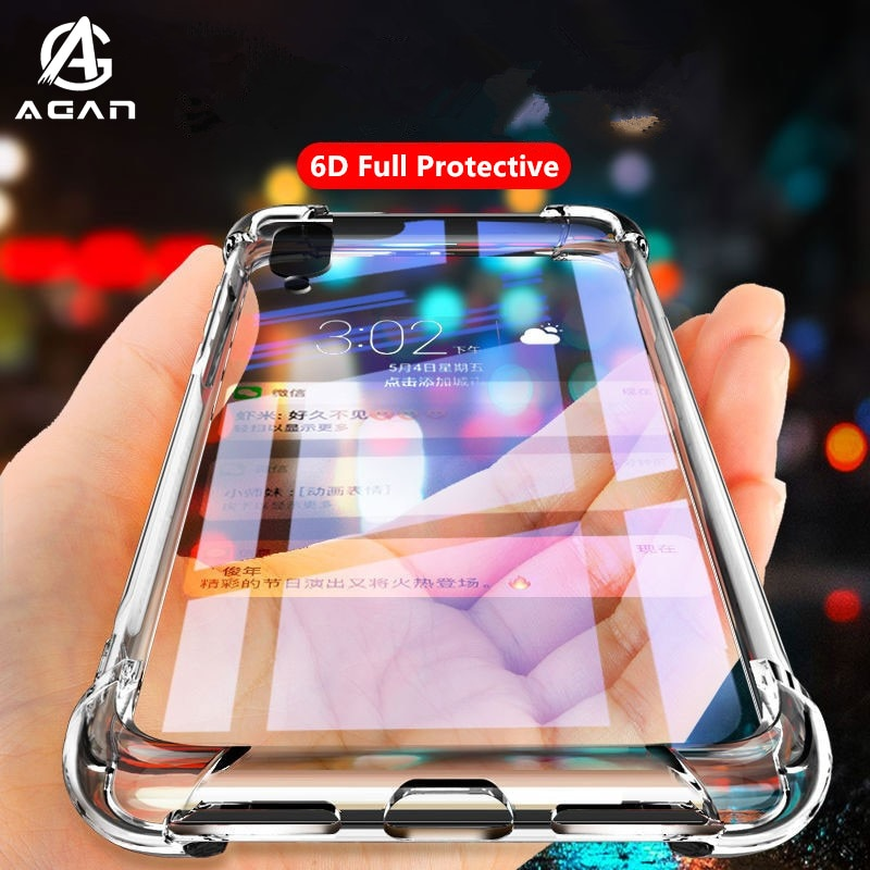 Прозрачный чехол из ТПУ с подушкой безопасности для Meizu 18 17 16s Pro 16T Note 9 8 M8 Lite V8 Pro 16Xs 16X 16 16th Plus X8, силиконовый чехол бампер Бамперы      АлиЭкспресс