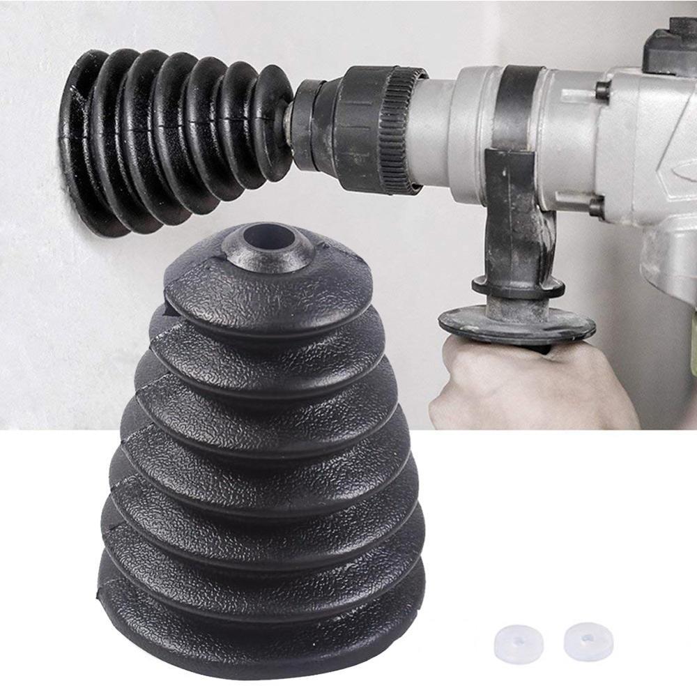 1 unidad Prostormer Taladro de Martillo eléctrico cubierta de polvo recolector de polvo de taladro accesorios de herramienta eléctrica