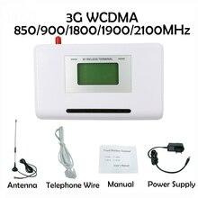 Terminal fixe sans fil 3G WCDMA, 850/900/1800/1900/2100MHZ, support système dalarme, PBX, voix claire, signal stable