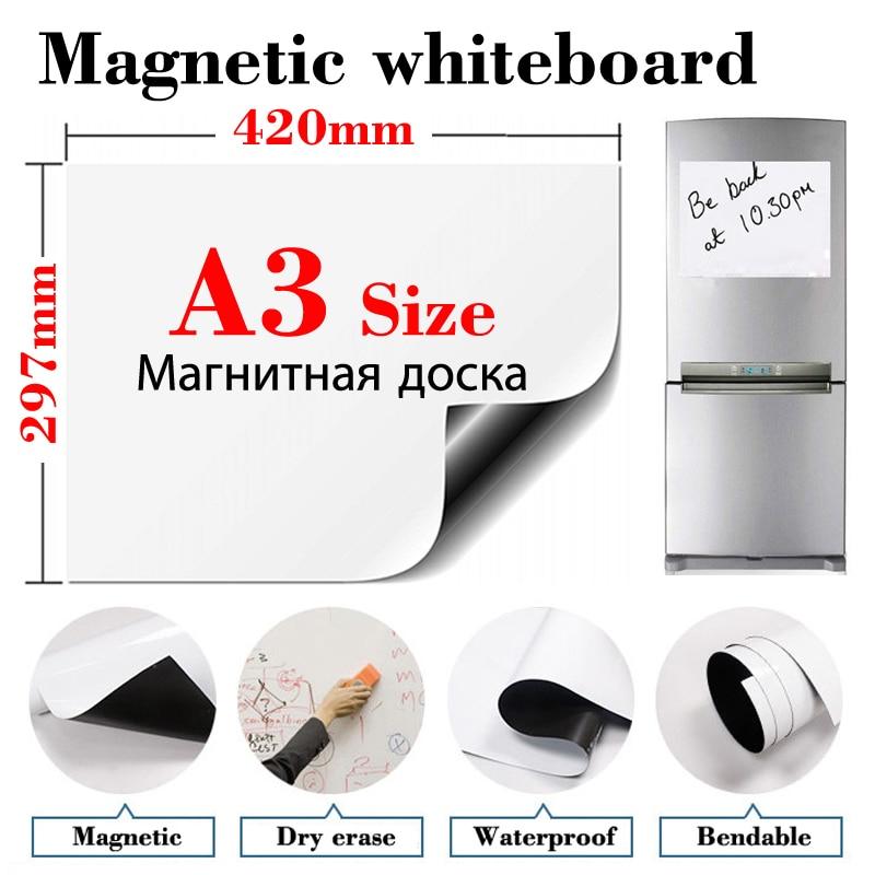 AliExpress - A3 Size Magnetic Fridge Stickers Whiteboard Office Home Kitchen Message Board Dry Erase Calendar Bulletin White Board for Kids