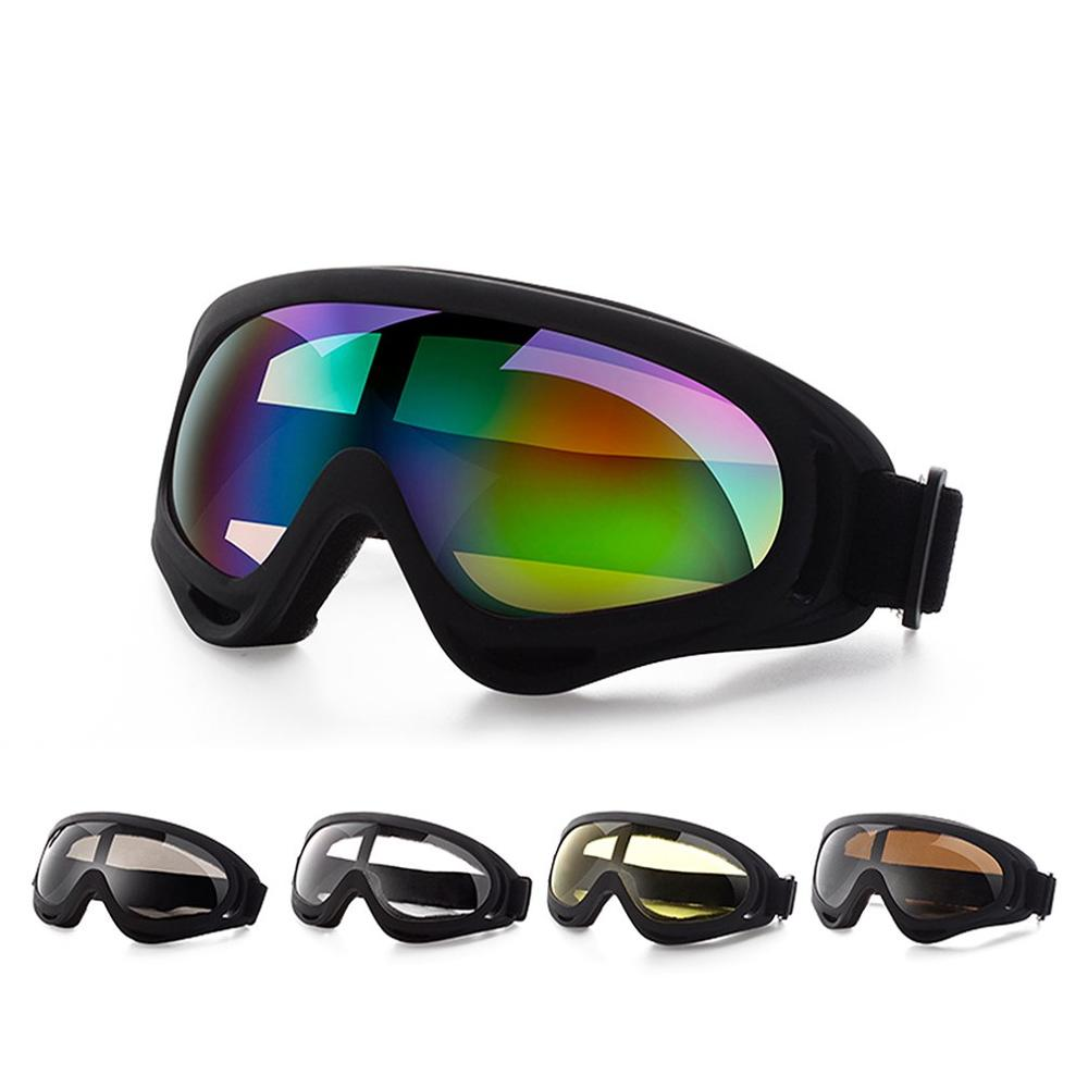Sport Outdoor Safety Glasses Skiing Goggle Protective Motorcycle Riding Protection Glasses Dust-Proof Anti-UV Windproof Tactical