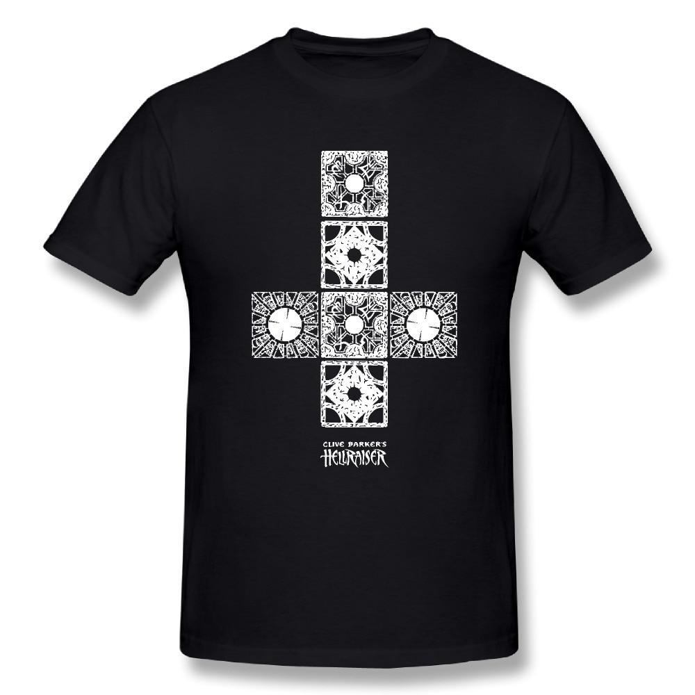 Midnite Star T-Shirt Hellraiser Box Clive Barker Printed Clothing Youth Cotton Tee Shirts New Arrival Teenage T-Shirt Design Art