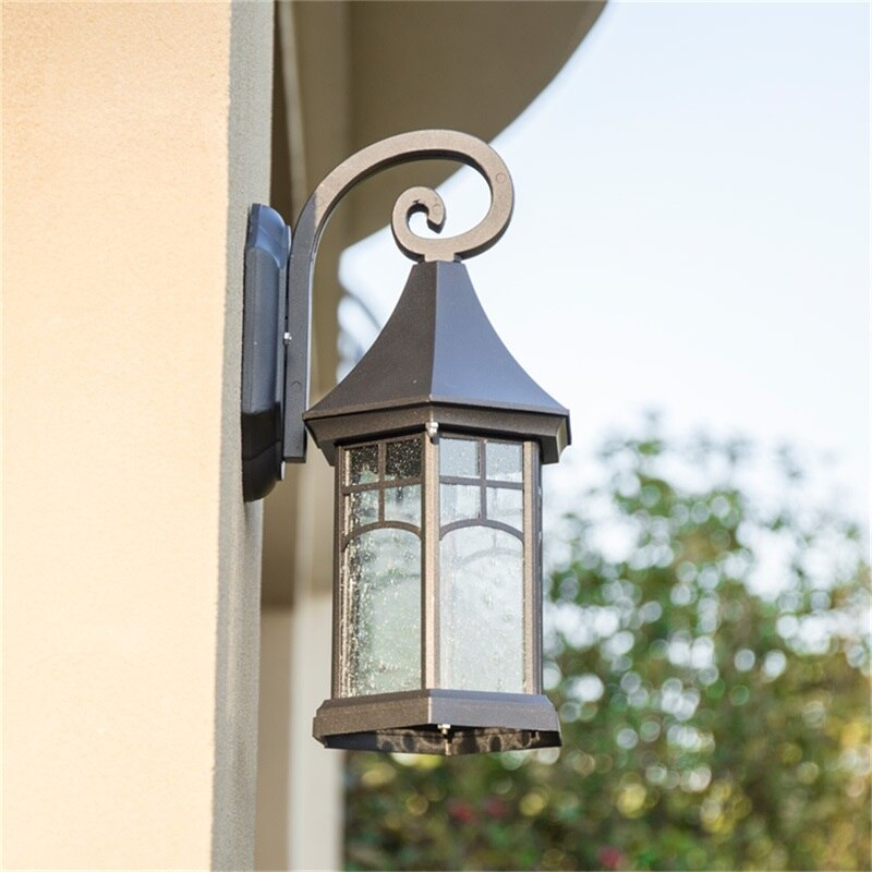 FAIRY Outdoor Retro Wall Lamp Fixture Classical LED Light Waterproof Sconces For Home Porch Villa enlarge