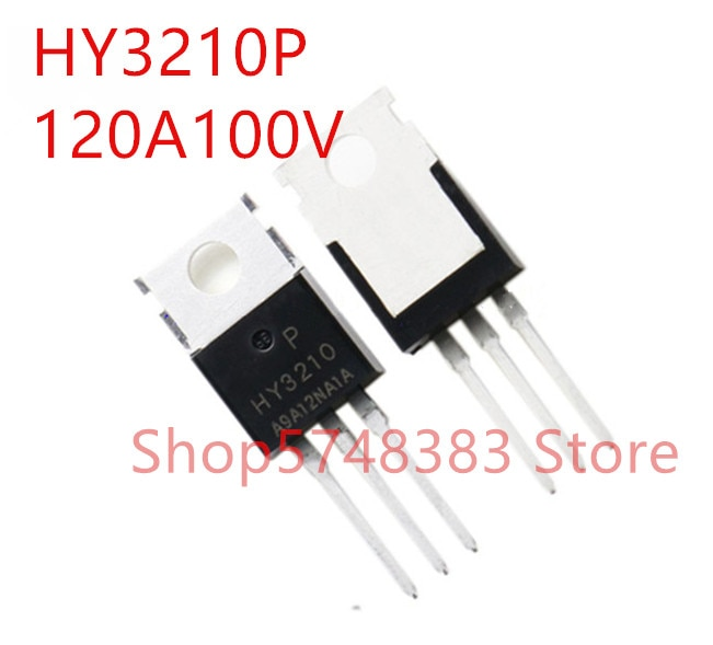 10 unids/lote 100% nuevo original HY3210P-220 HY3210B-263 HY3210 120A 100V MOS tubo