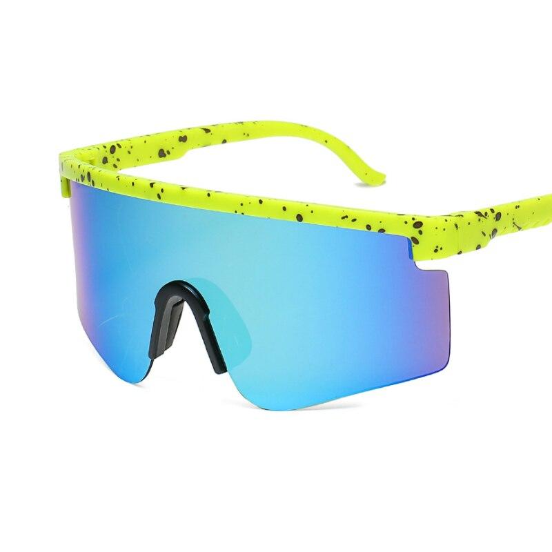 Новые стильные велосипедные очки, спортивные солнцезащитные очки для улицы, мужские и женские солнцезащитные очки