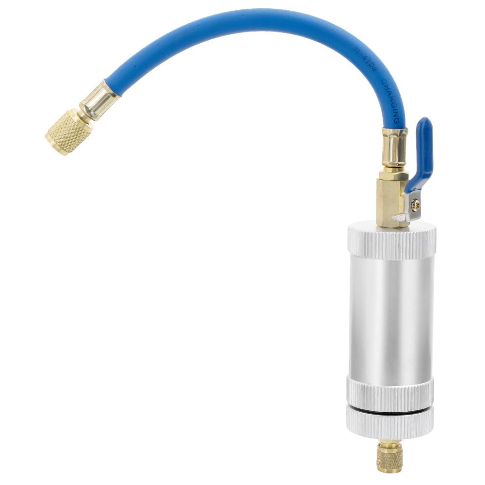 R12 R134A R22 холодильная Воздушная система Автомобильная трубка для розлива масла хладагент масляный наполнитель автомобильные аксессуары