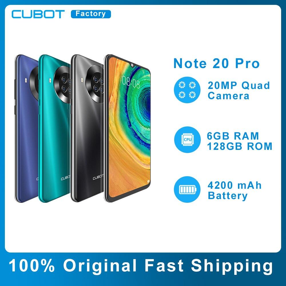 Cubot-teléfono móvil inteligente modelo Note 20 Pro Original, celular con pantalla HD...