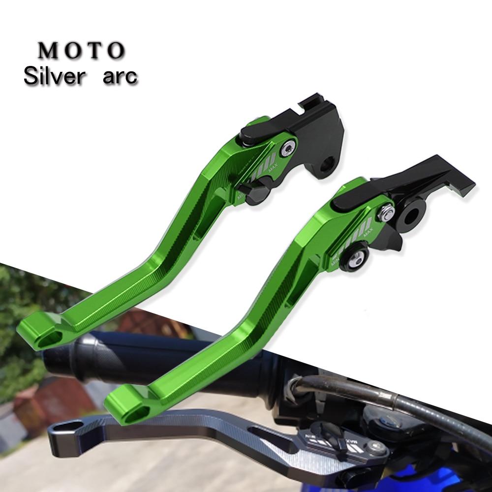 Alavancas de freio de motocicleta, 5d cnc ajustável forkawasaki ninja400 ninja 400 ninja250 ninja300 z400 z300 z250