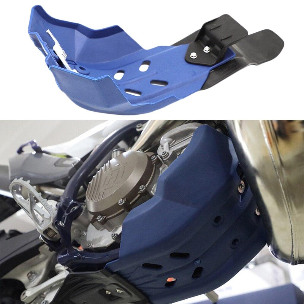 Cubierta protectora de motor de placa de deslizamiento Base de Motocross para KTM Blue 300x50mm