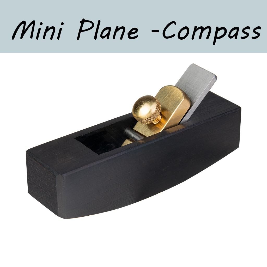 European-Style Compass Mini Ebony Plane Durable Angle Plane