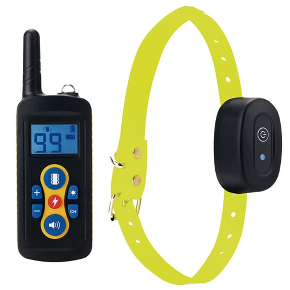 Pet Dog Training Collar Remote Control Vibration/Electric Shock/Sound Electronic Bark Stopper Device