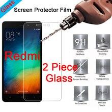 2 шт 9H прозрачное закаленное стекло протектор экрана для Redmi S2 Go 3S 3X 3 2 пленка HD Защитное стекло для Xiaomi Redmi 4X 4A 4 Pro