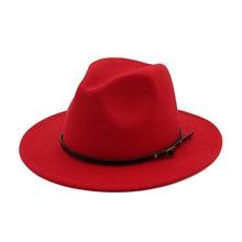 Chapéu de inverno de feltro de cor sólida de feltro de aba larga chapéu de chapéu de chapéu de chapéu de chapéu de inverno