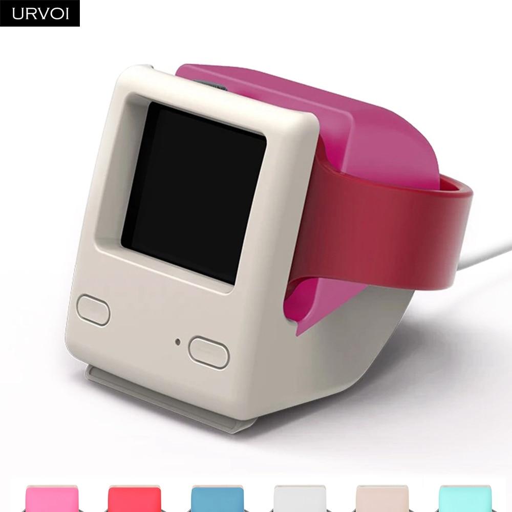 Soporte URVOI para apple watch series 4 3 2 1 soporte watchOS 4 mesita de noche macintosh diseño