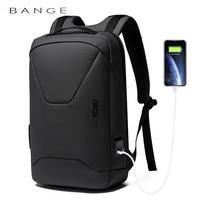 Рюкзак BANGE мужской, для ноутбука 15,6 '', водонепроницаемый, с защитой от кражи