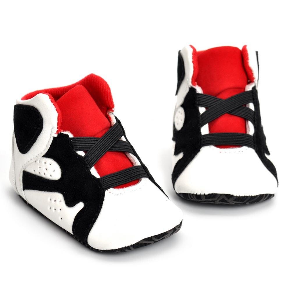 Bebé recién nacido chico niñas cuna Zapatos de suela suave Anti-bebé Zapatos...