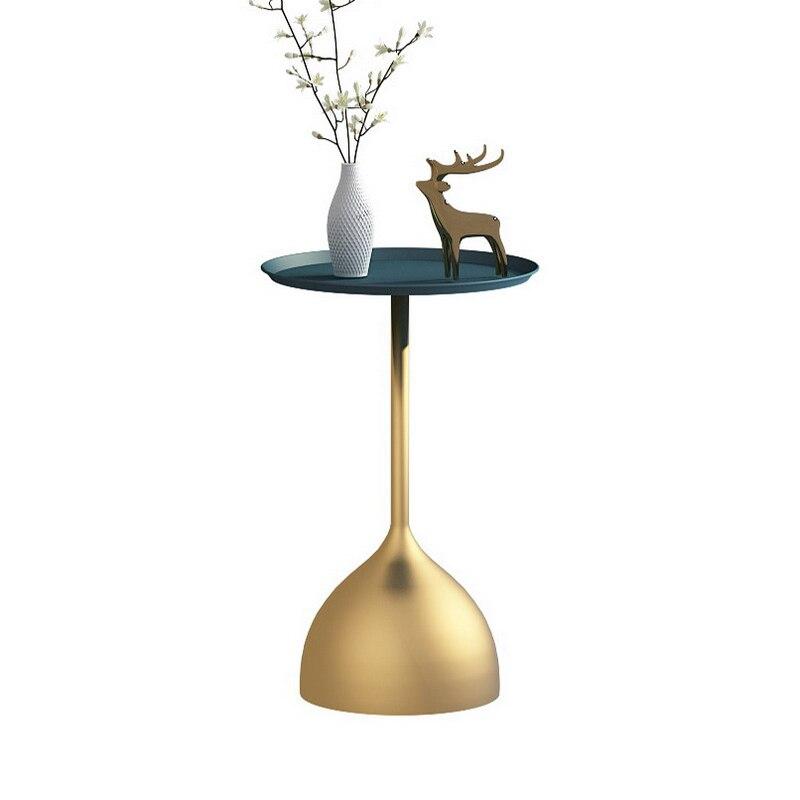 Nórdicos creativo mármol café mesa de salón habitación sofá mesa lateral moderno...