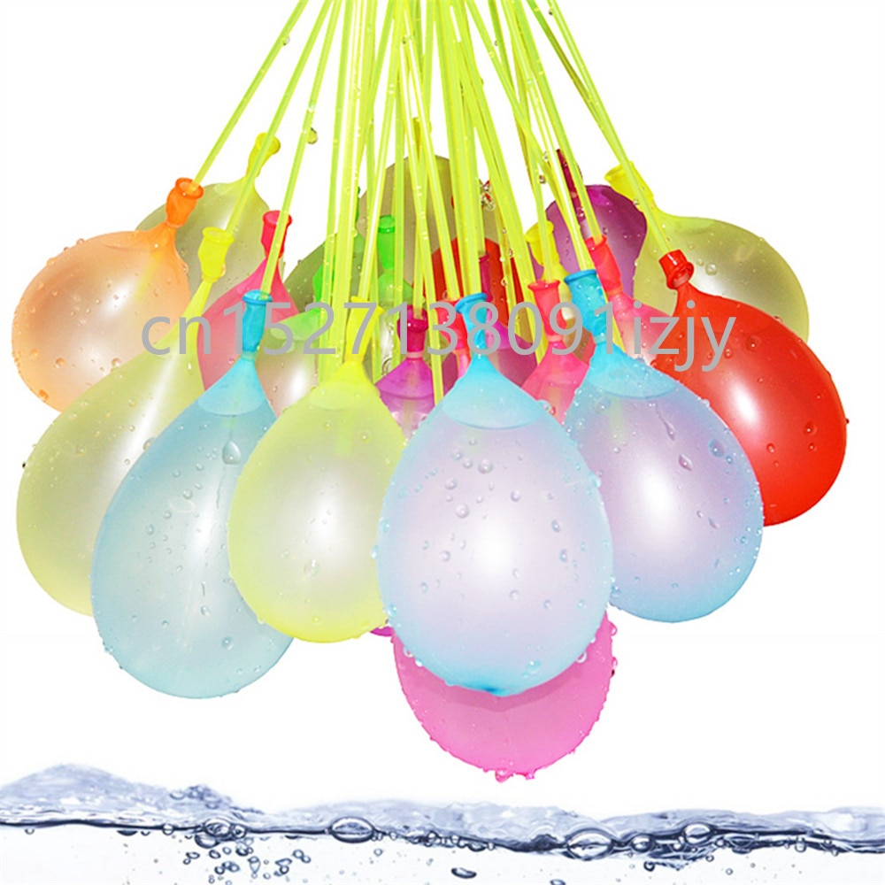 111pcs Water Balloon Water Bomb Magic For kids Children Adult Summer Outdoor Beach Toys