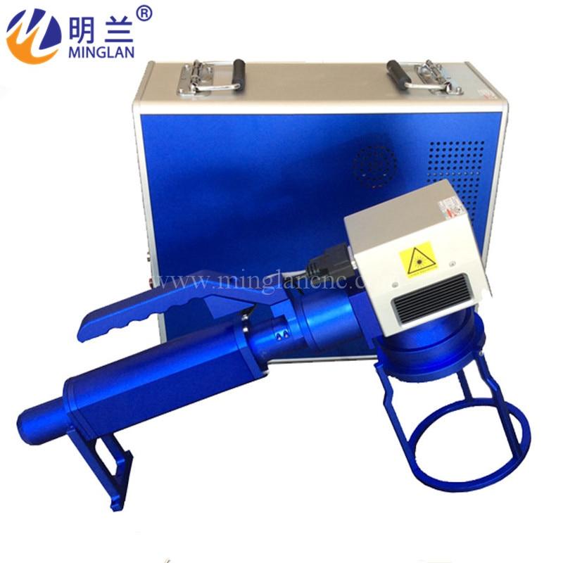 Máquina de marcado láser de fibra Raycus de 50W, 20W, 30W, utilizado para metal, aluminio dorado, latón plateado, grabado y corte de acero para teléfonos